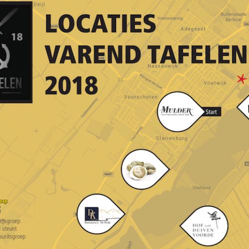 Locaties voor 2018